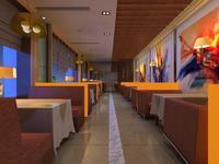 Restaurant 081 3D Model