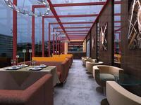 Restaurant 084 3D Model