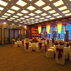 Restaurant 087 3D Model