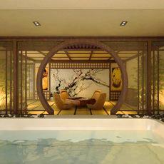 SPA Room 002 3D Model