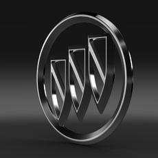 Buick Logo 3D Model