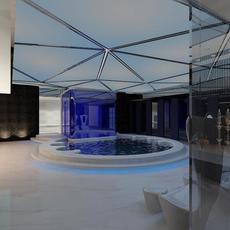 SPA Room 005 3D Model