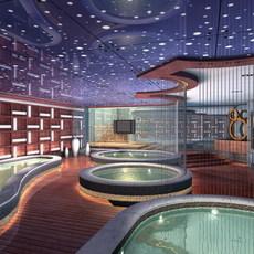 SPA Room 007 3D Model