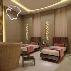 SPA Room 011 3D Model