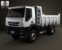Iveco Trakker Dump Truck 2-axis 2012 3D Model
