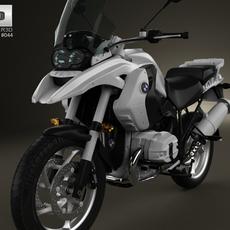 BMW R1200GS 2004 3D Model