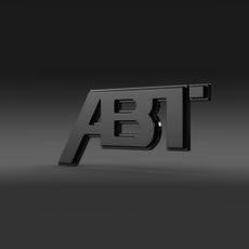 ABT Logo   3D Model