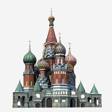 Saint Basil's Cathedral 001  3D Model
