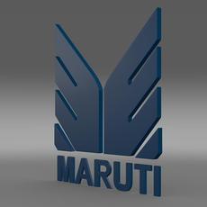 Maruti Logo  3D Model