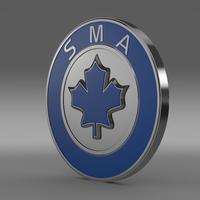 SMA Logo   3D Model