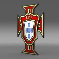 Logo Football Portugal  3D Model
