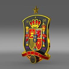Logo Football Spain   3D Model