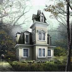 Tudor Style House - villadom 3D Model