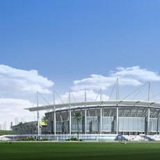 Stadium - Architecture 019 palaestra 3D Model