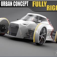 Audi Urban Concept 3D Model
