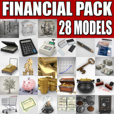 Financial Collection 3D Model