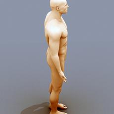 Male Body 02 3D Model