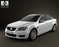 Holden VE Commodore Sedan 2012 3D Model
