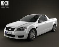 Holden VE Commodore UTE 2012 3D Model