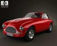 Ferrari 166 Inter Berlinetta 1950 3D Model