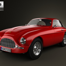 Ferrari 166 Inter Berlinetta 1950 3D Model