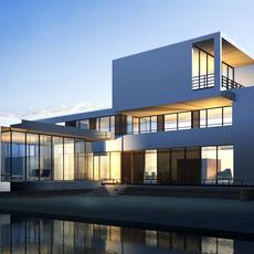 3d building 008 3D Model
