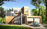 3d building 010 3D Model