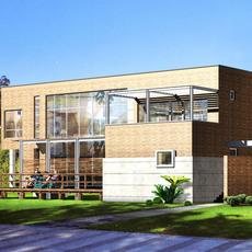 3d building 011 3D Model
