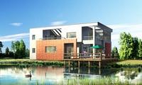 building modern house 012 3D Model
