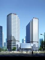 3d building 022 3D Model