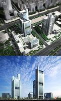 3d building 023 3D Model