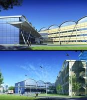3d building 027 3D Model