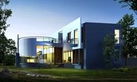 3d building 035 3D Model