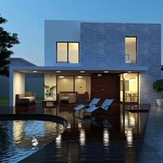 3d building 123 3D Model