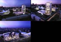 3d building 129 3D Model