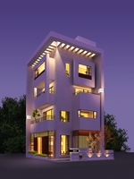 3d building 186 3D Model