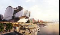 Waterfront Urban Cityscape  buildings 220 3D Model