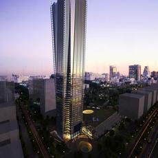 Buildings Cityscape 222 3D Model