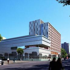 Modern Skyscraper Cityscape 273 3D Model