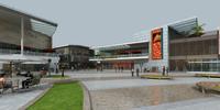 Modern Building Exterior Scene 345 3D Model