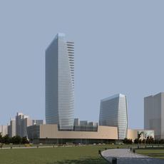 City Skyline 367 3D Model