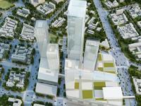 Aerial Cityscape 391 3D Model