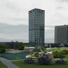 Cityscape 414 3D Model