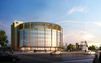 Circular Building Cityscape 429 3D Model