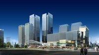 Downtown Cityscape 446 3D Model