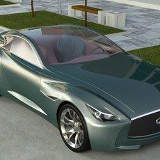 Infiniti Essence 3D Model