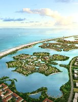 Residential Islands in Ocean 469 3D Model