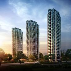 Skyscraper Scene 476 3D Model