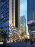 Downtown Scene 485 3D Model