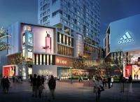 Night Shopping District 492 3D Model